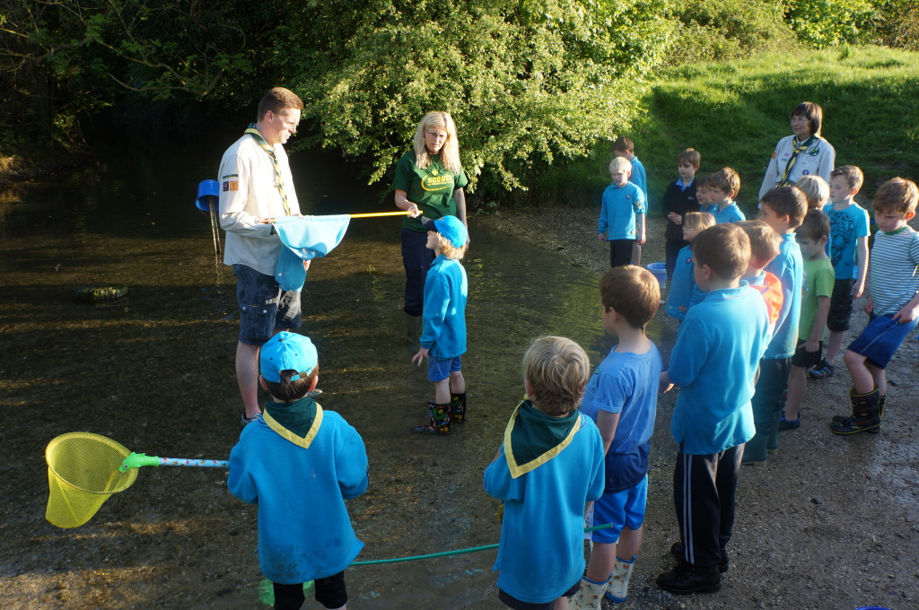 Chickasaw pond dipping 1st stotfold scouts for Plenty of fish cheyenne